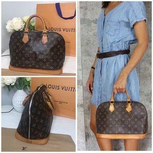 🛍LOUIS VUITTON Monogram Alma Bag